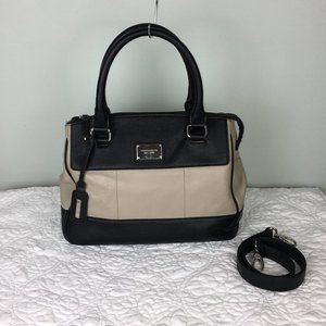 Tignanello Social Status Two Tone Shoulder Bag